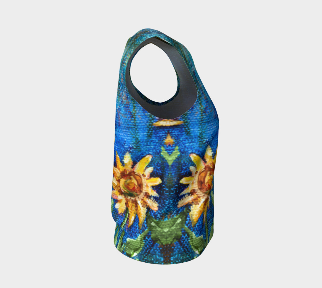 Sunflower Denim Loose Tank preview #4