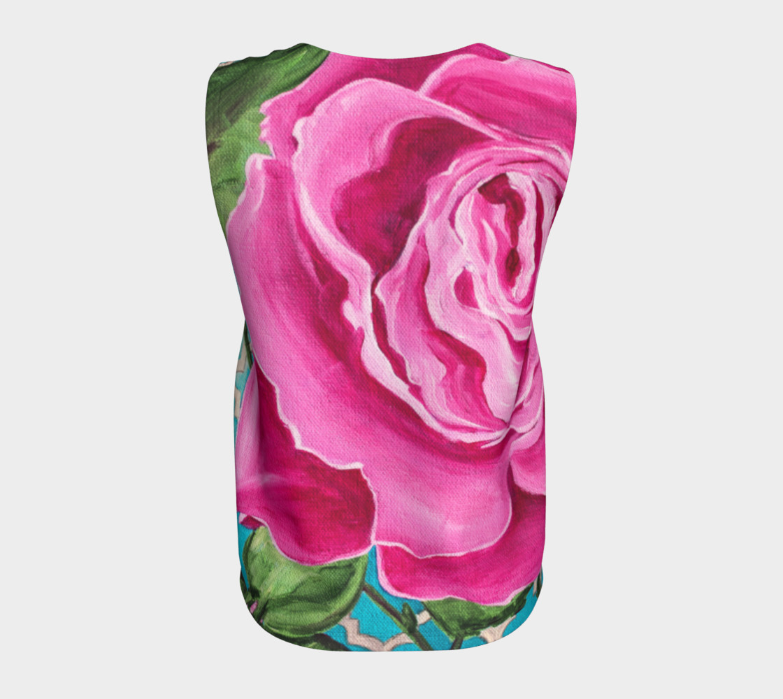 Mother's Day Rose Loose Tank preview #6