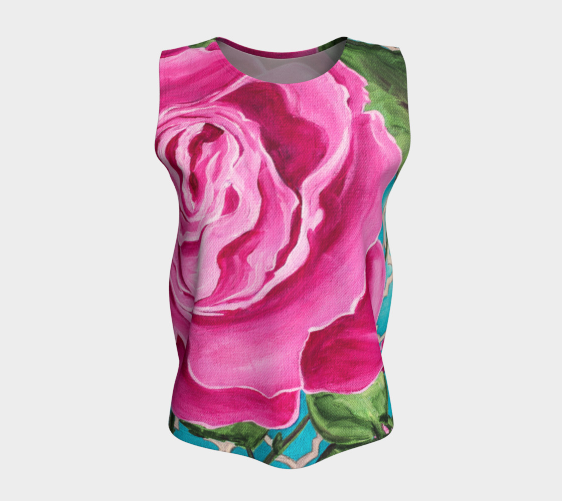 Mother's Day Rose Loose Tank preview #5