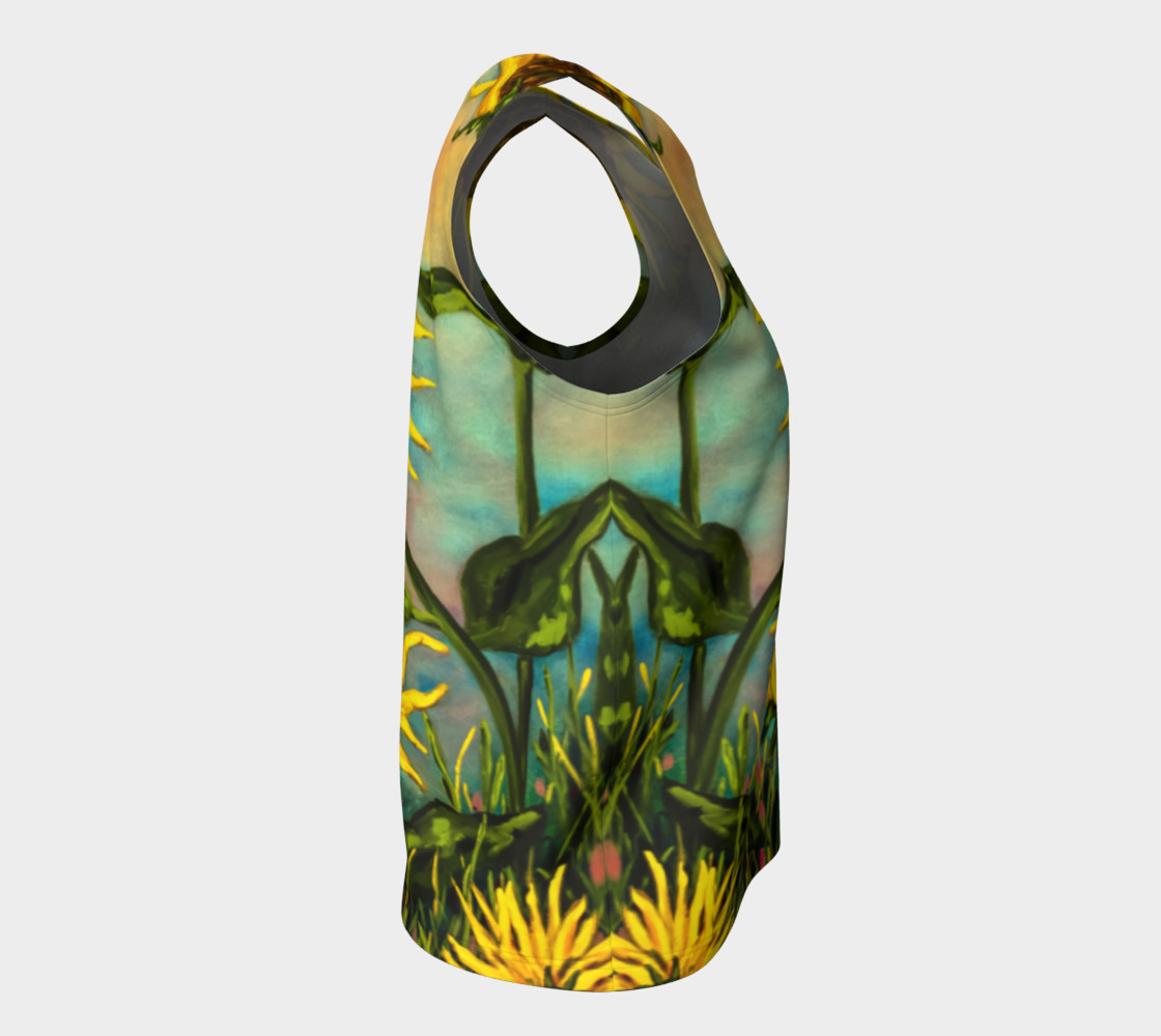 Sunflowers Loose Tank preview #8