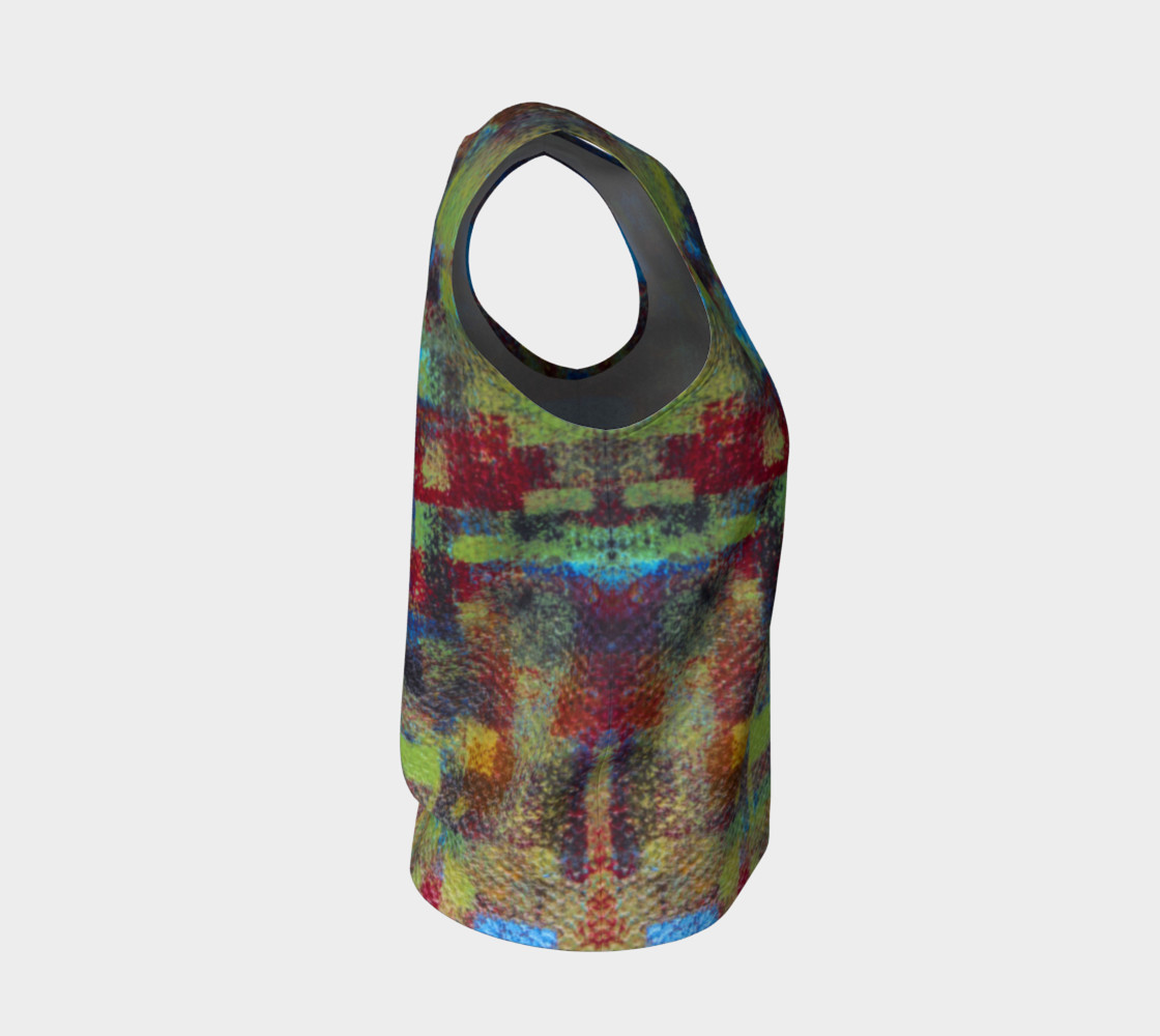 Abstract Mosaic Loose Tank preview #4