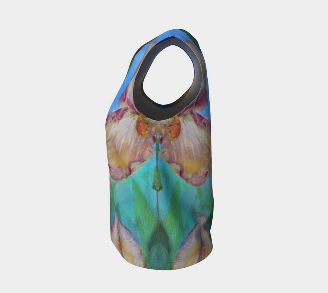 Variegated Irises Loose Tank preview #3