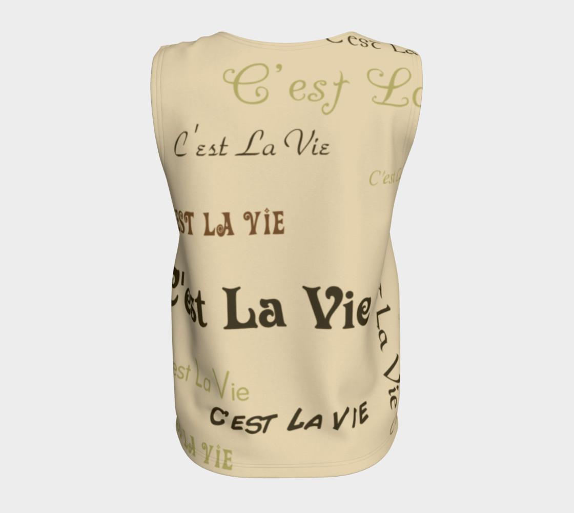 Coffee C'est la Vie Tank Top preview #6