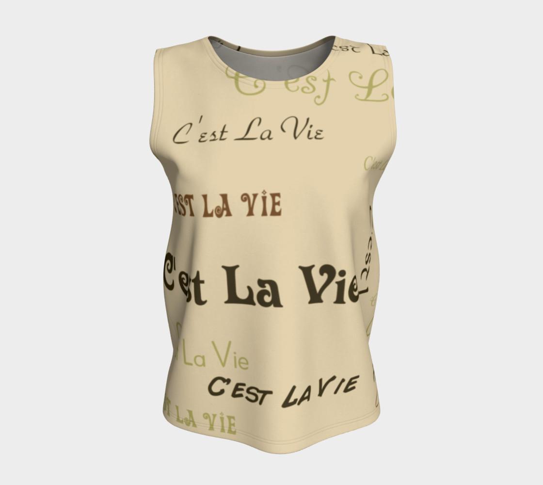 Coffee C'est la Vie Tank Top preview #5