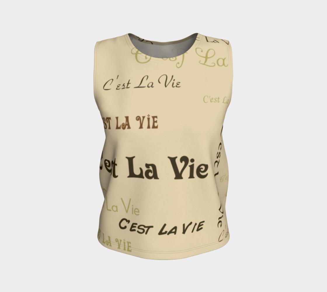 Coffee C'est la Vie Tank Top preview #1