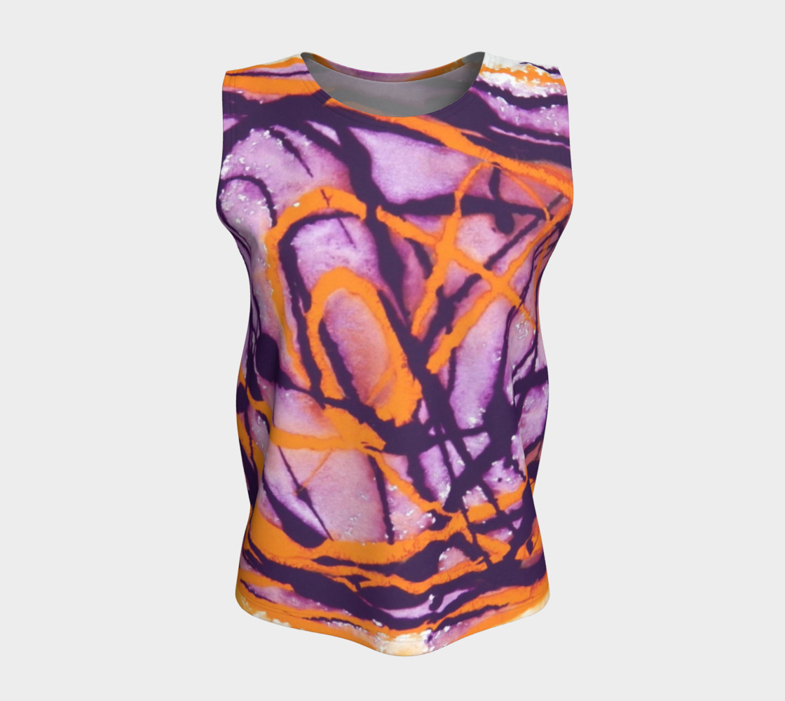 Sunset Twilight Tank Top preview #5