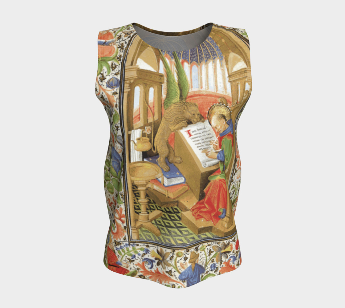 Winged Lion Loose Tank Top preview #5