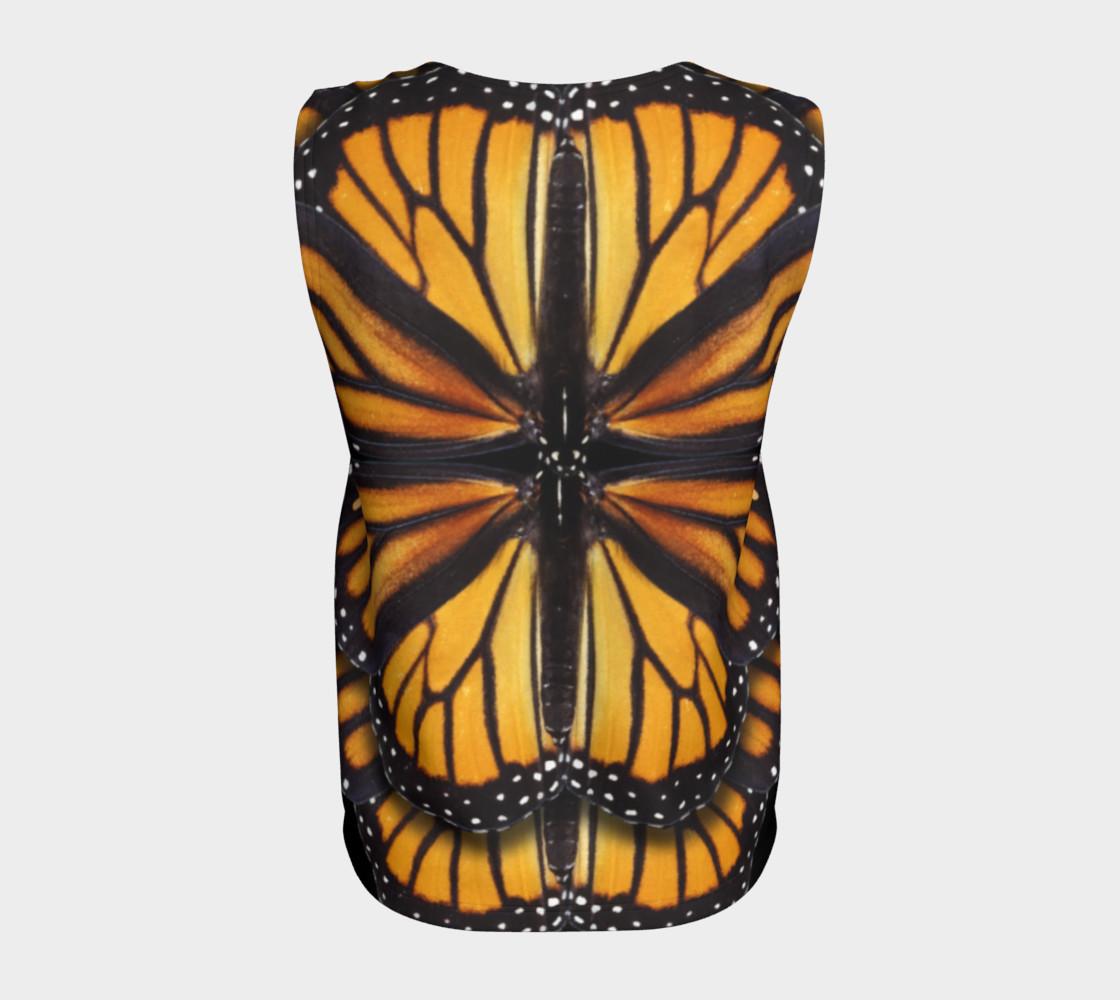 Aperçu de Monarch Butterfly Symmetrical Loose Tank Top #6