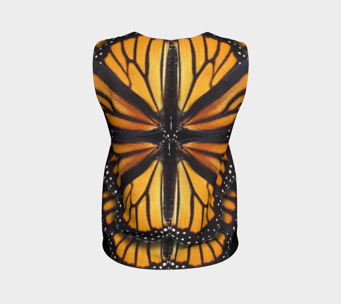 Aperçu de Monarch Butterfly Symmetrical Loose Tank Top #2