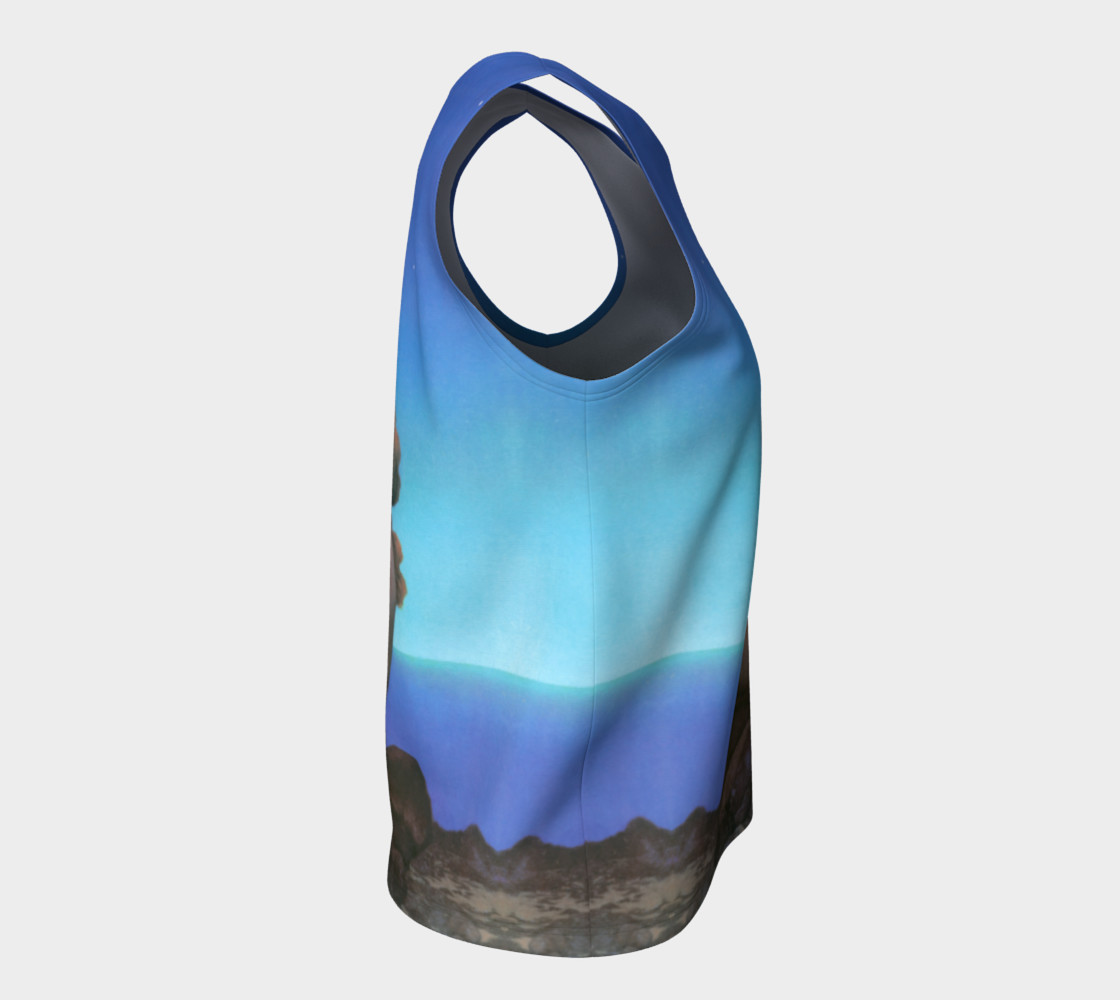 Maxfield Parrish Stars Loose Tank Top preview #8