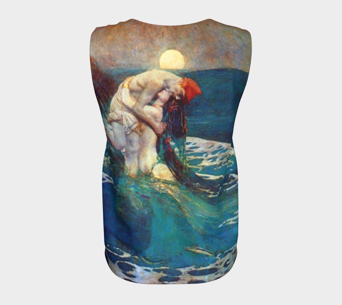 Pyle Mermaid Loose Tank Top preview #6