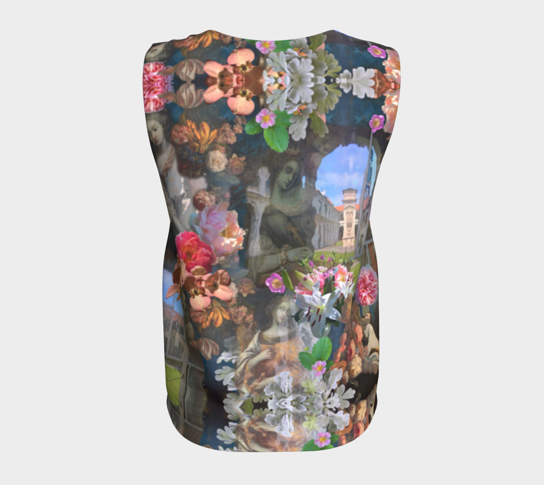 Flowers of the Loreta 1 Loose Tank Top Miniature #7