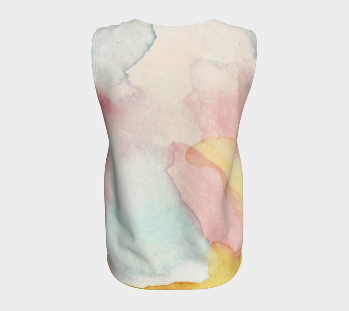 Clouds of a Different Colour Tank Top preview #6