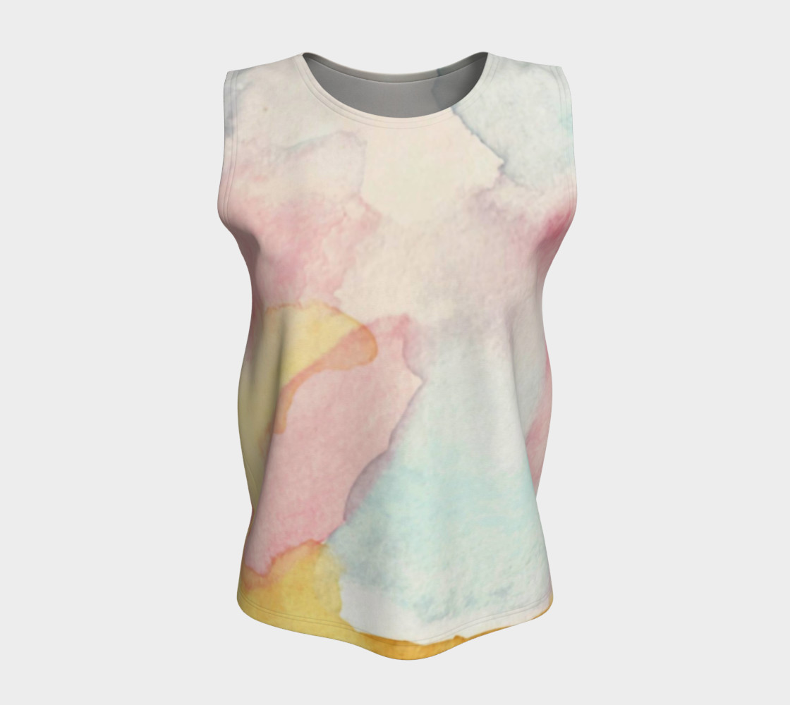 Clouds of a Different Colour Tank Top preview #5