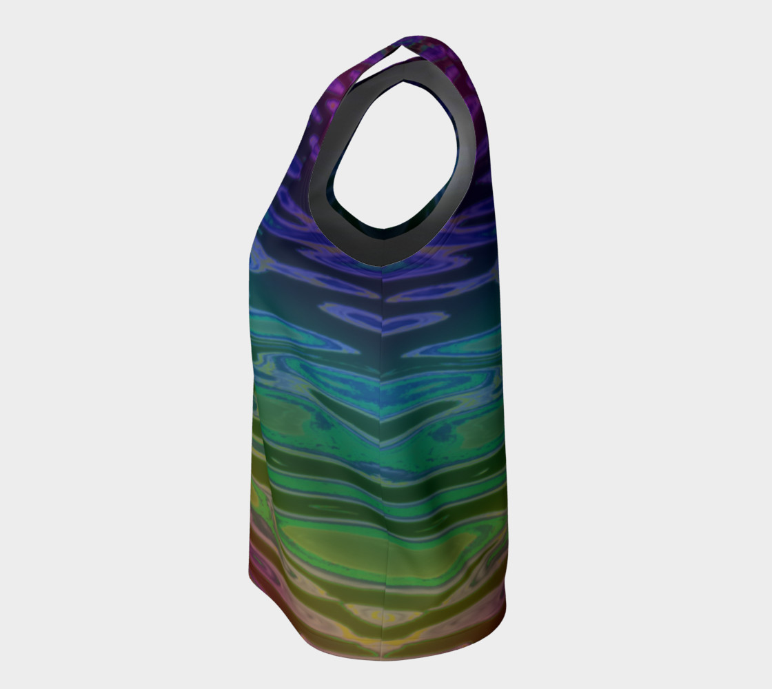 ColorWave Loose Tank preview #7