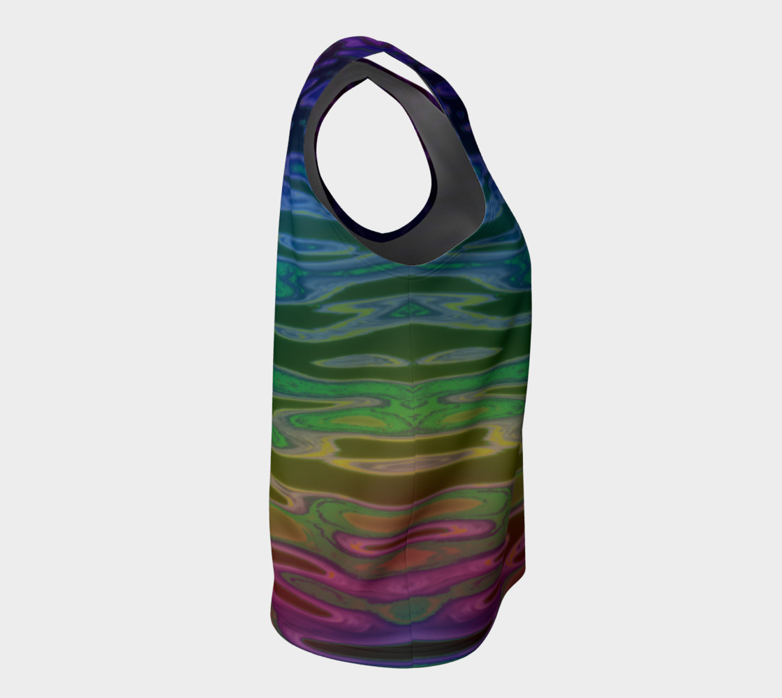 ColorWave Loose Tank preview #8