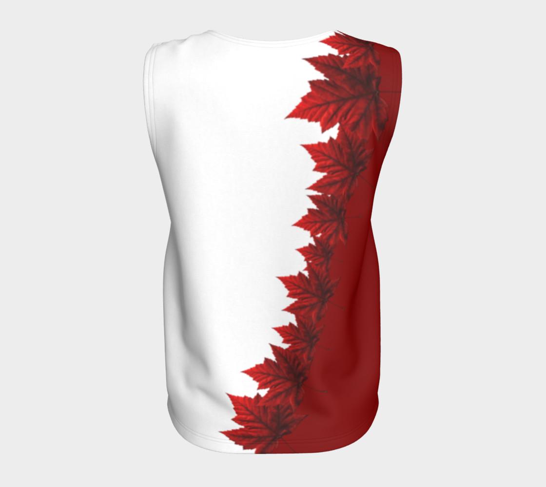 Aperçu de Canada Maple Leaf Tank Tops Canada Souvenir Shirts #6