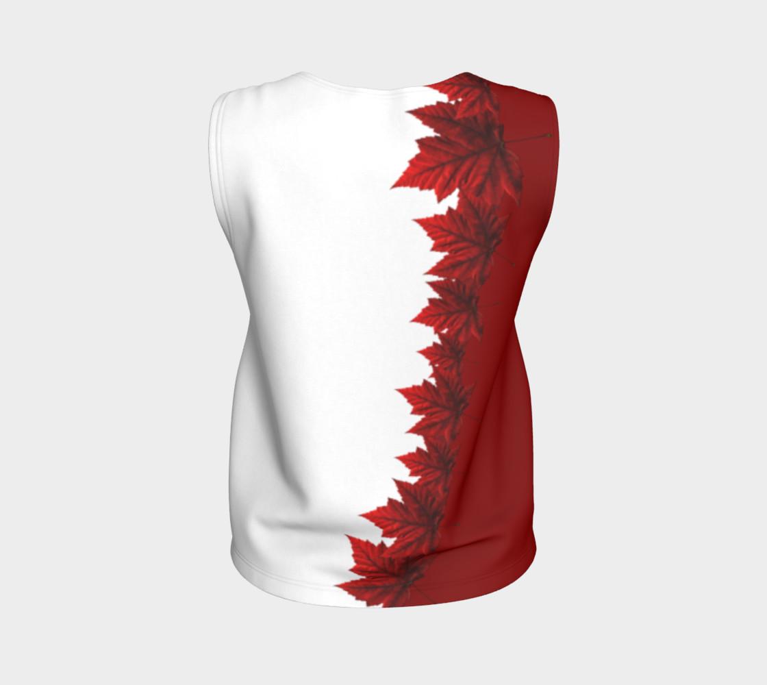 Aperçu de Canada Maple Leaf Tank Tops Canada Souvenir Shirts #2