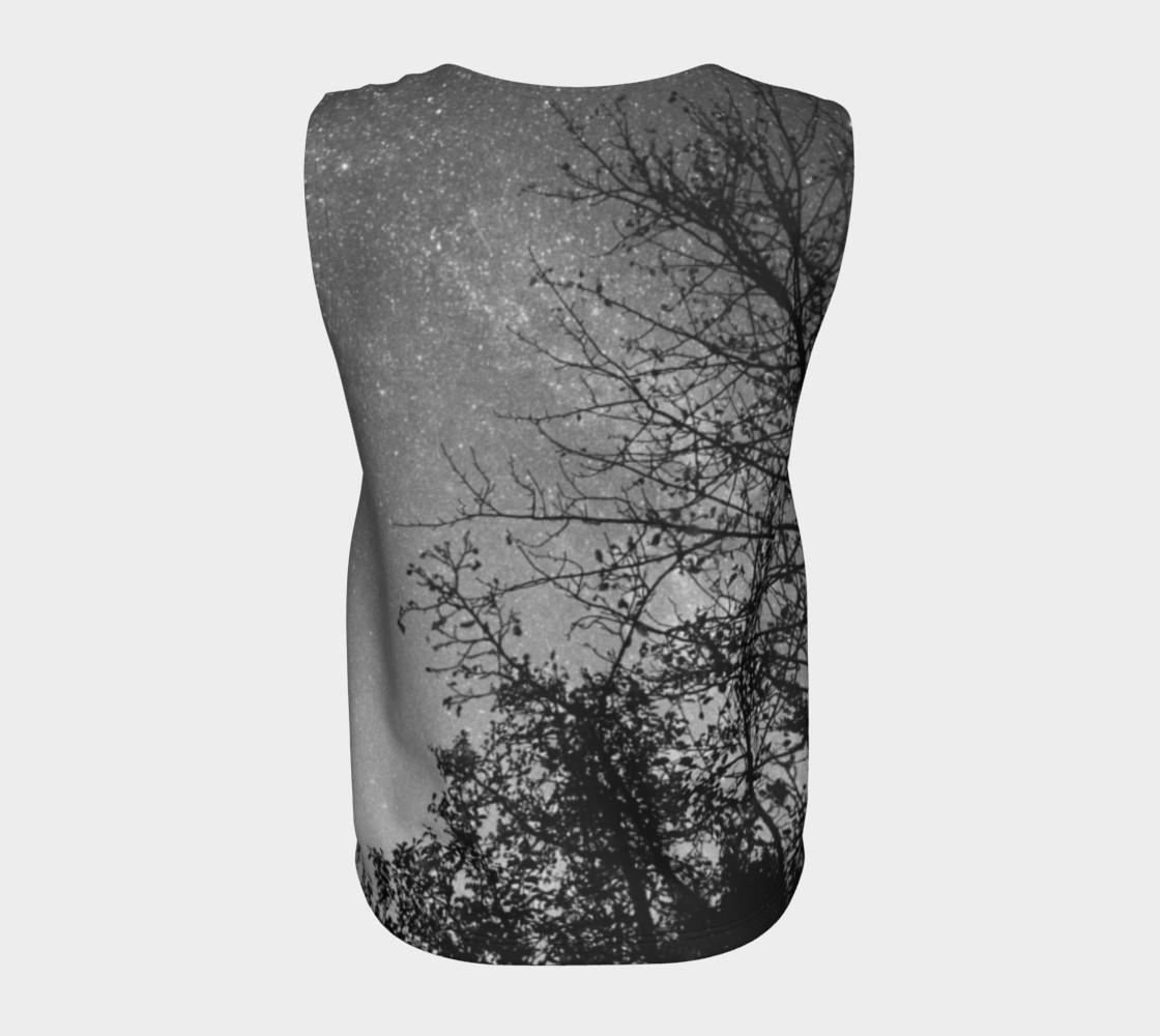 Aperçu de Black White Sky Branches #6
