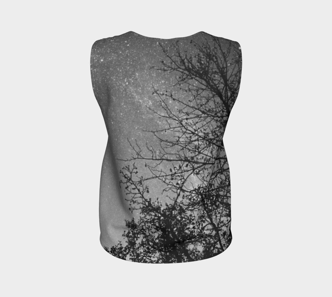 Aperçu de Black White Sky Branches #2