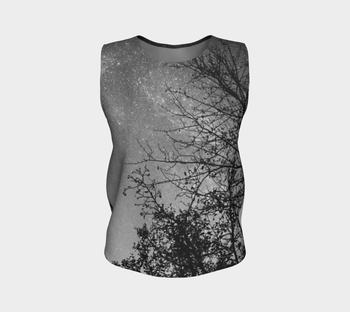 Aperçu de Black White Sky Branches #1