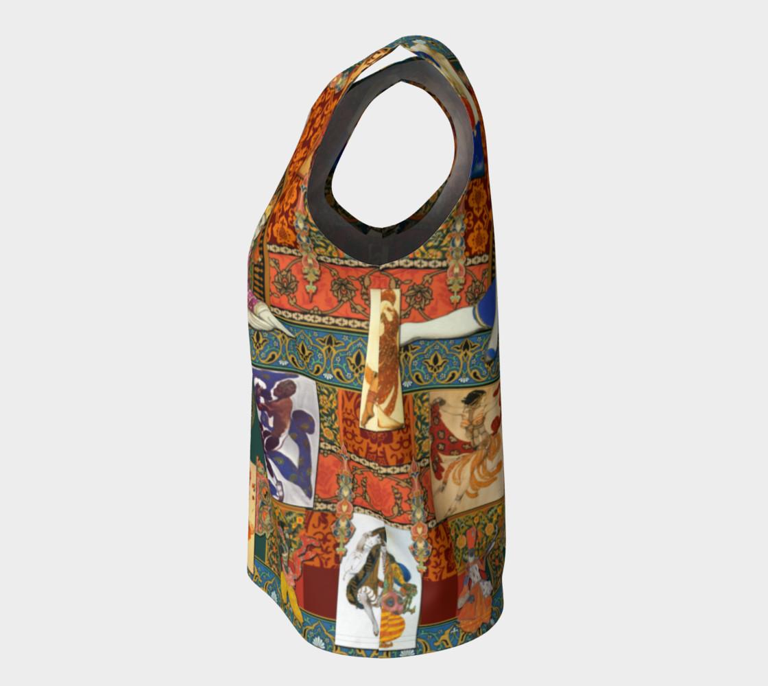 Aperçu de Ballets Russes Tapestry - Loose Tank Top #7