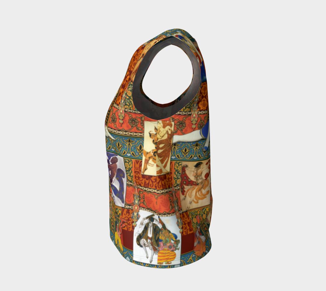 Aperçu de Ballets Russes Tapestry - Loose Tank Top #3