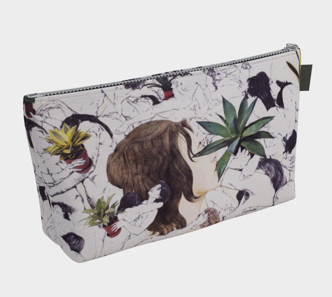 The Joy of Sex and Indoor Gardening Makeup Bag preview #2
