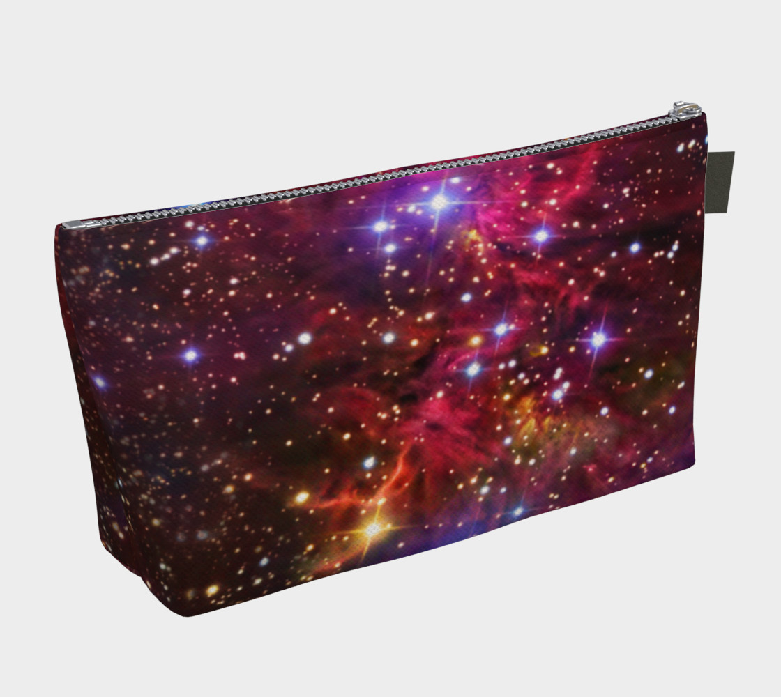 Fox Fur Nebula Makeup Gear Bag with Pocket preview #2
