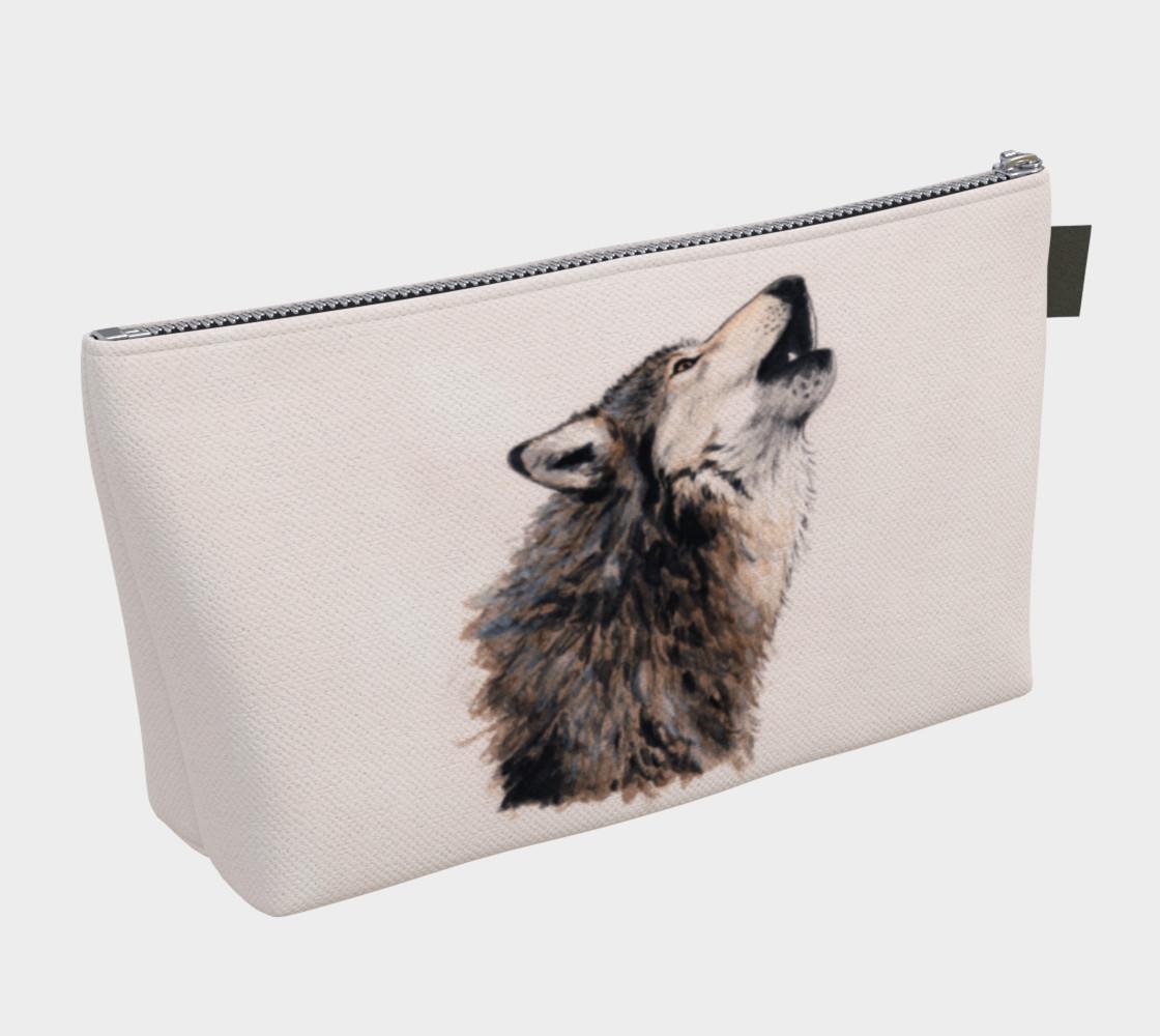 Aperçu de Grey wolf Makeup Bag #2
