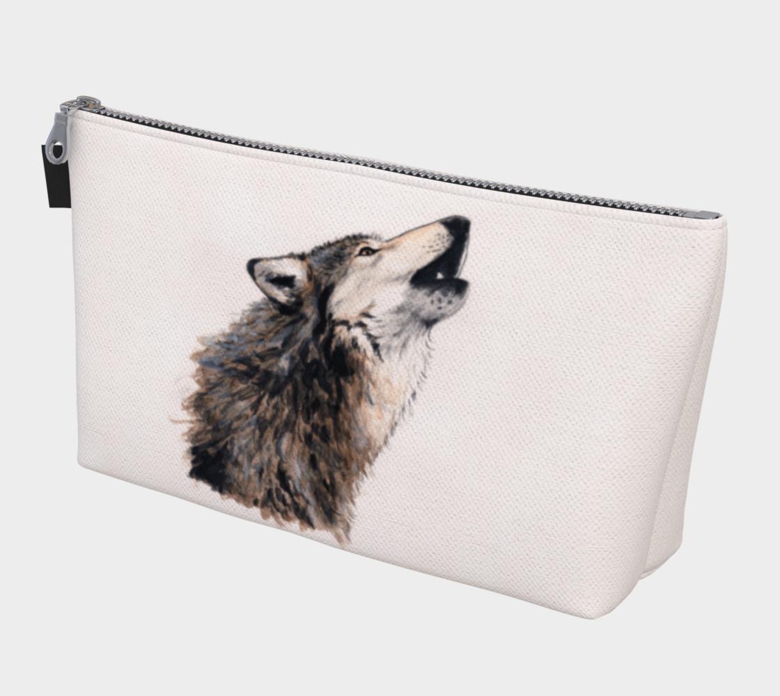 Aperçu de Grey wolf Makeup Bag #1