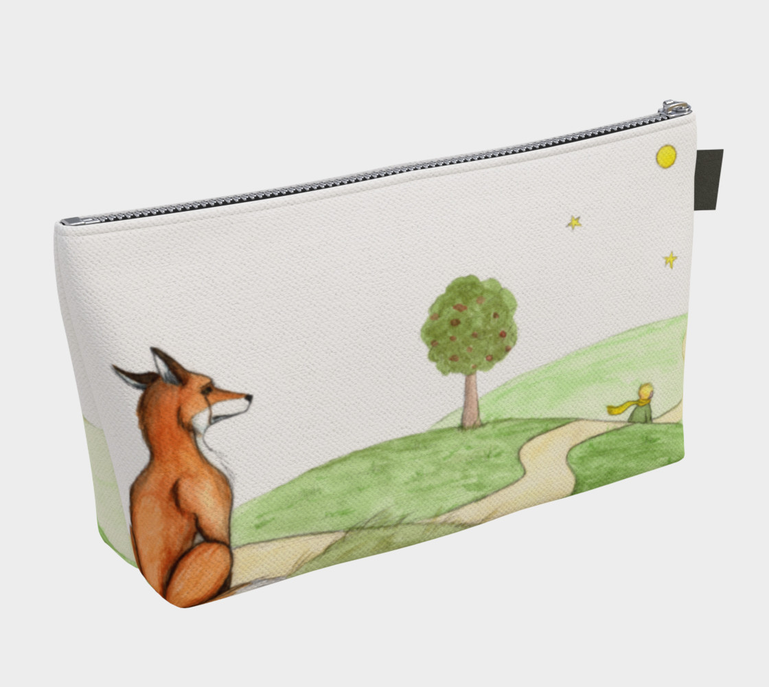 The little prince and the fox Makeup Bag preview #2