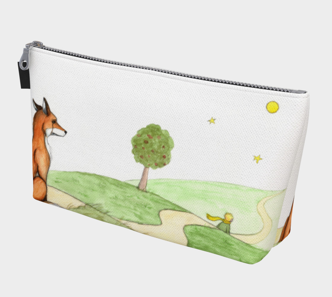 The little prince and the fox Makeup Bag preview #1