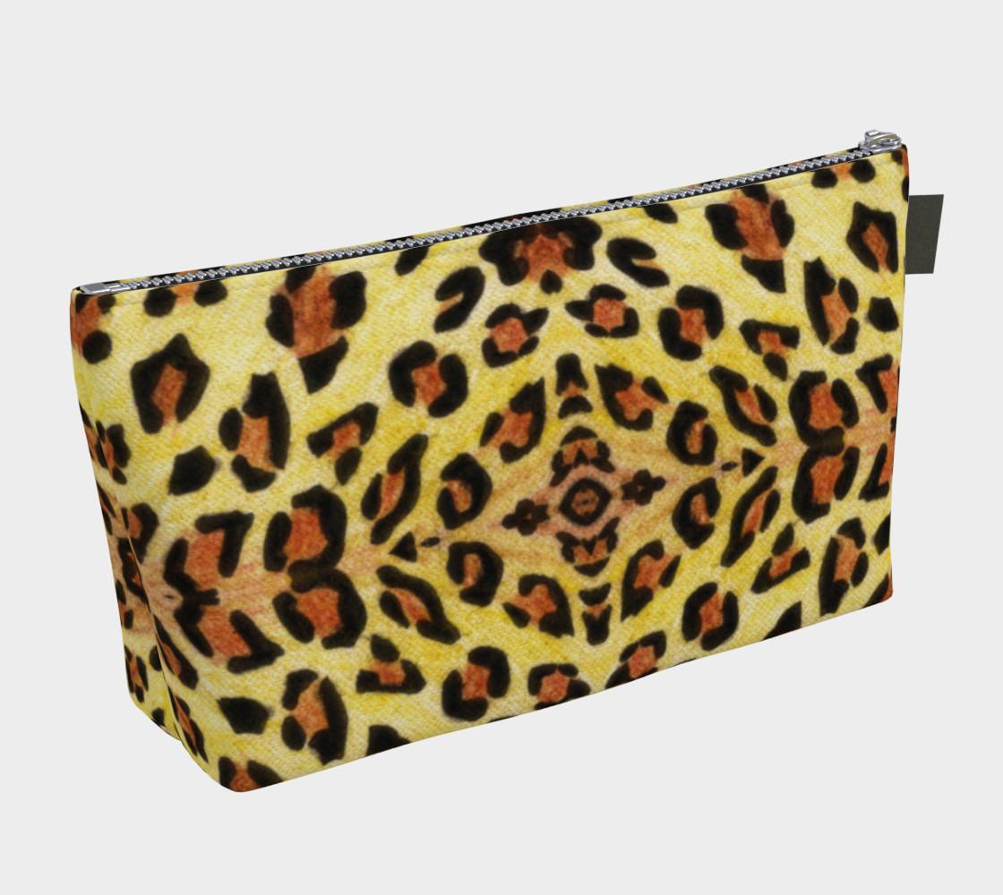 Leopard print Makeup Bag preview #2