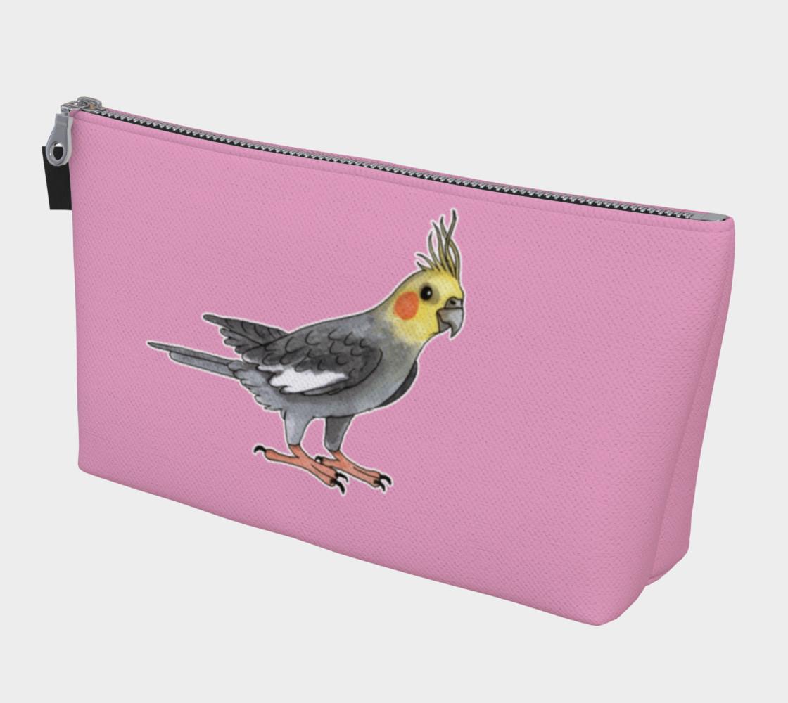 Aperçu de Cockatiel bird Makeup Bag #1
