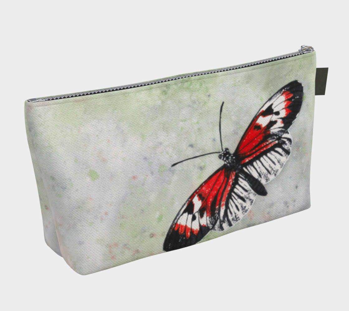 Aperçu de Piano key butterfly Makeup Bag #2