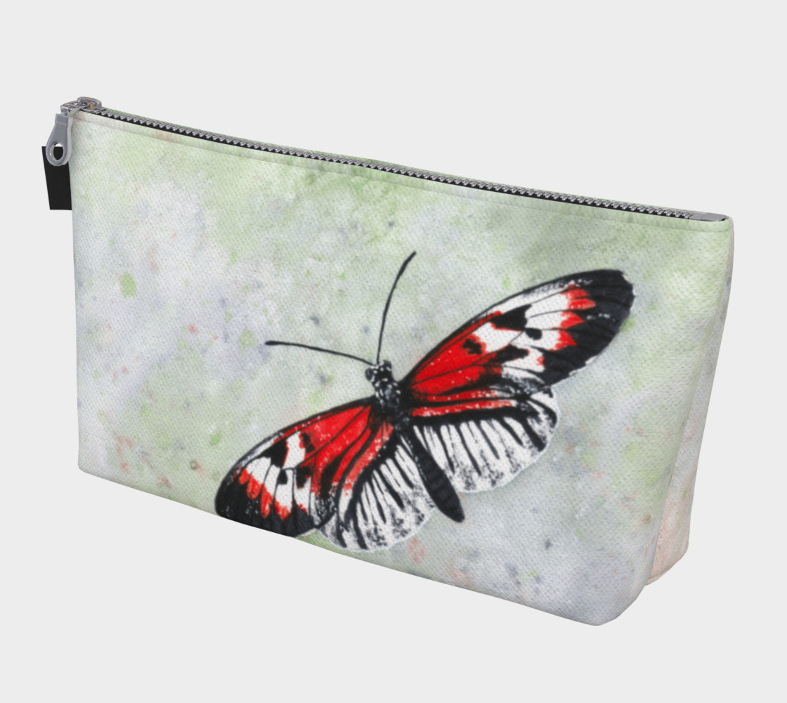 Aperçu de Piano key butterfly Makeup Bag #1