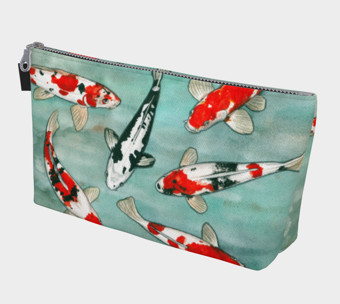Le ballet des carpes koï Makeup Bag 3D preview