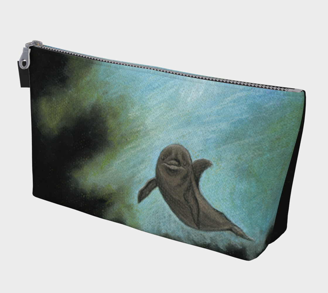 Dolphin underwater Makeup Bag preview #1