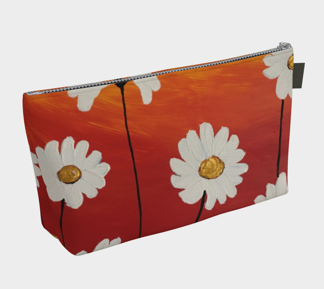 Daisy Sunset Makeup Bag Miniature #3
