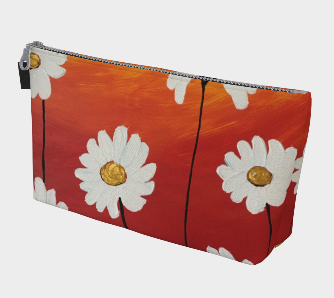 Aperçu de Daisy Sunset Makeup Bag #1