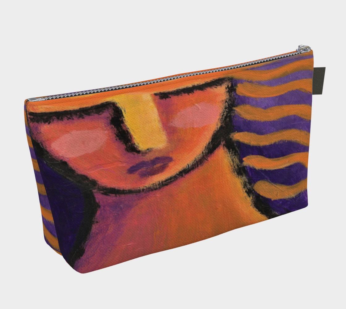 Abstract Woman Clutch Bag preview #2