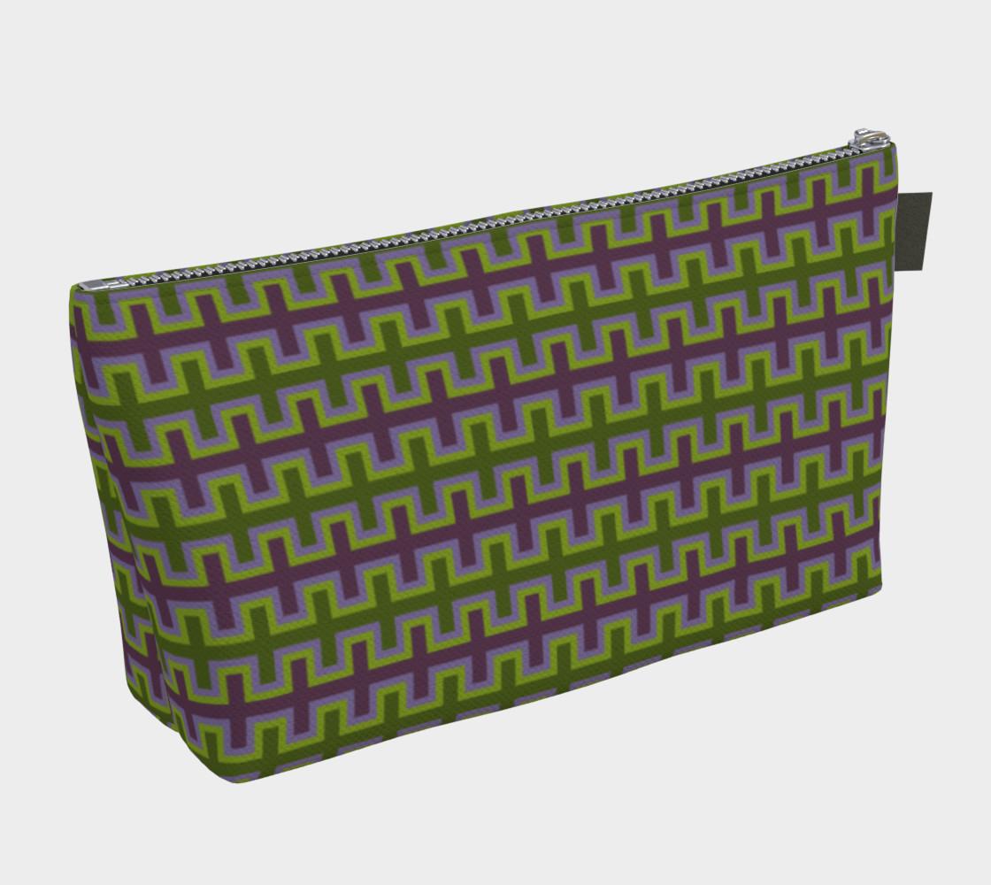 Aperçu de Purple and Green Southwest Blanket #2