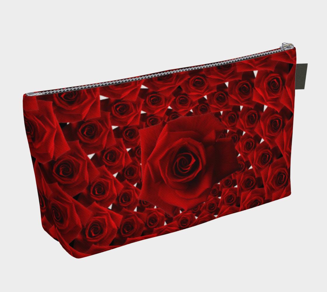 Spiral Rose Makeup Bag preview #2