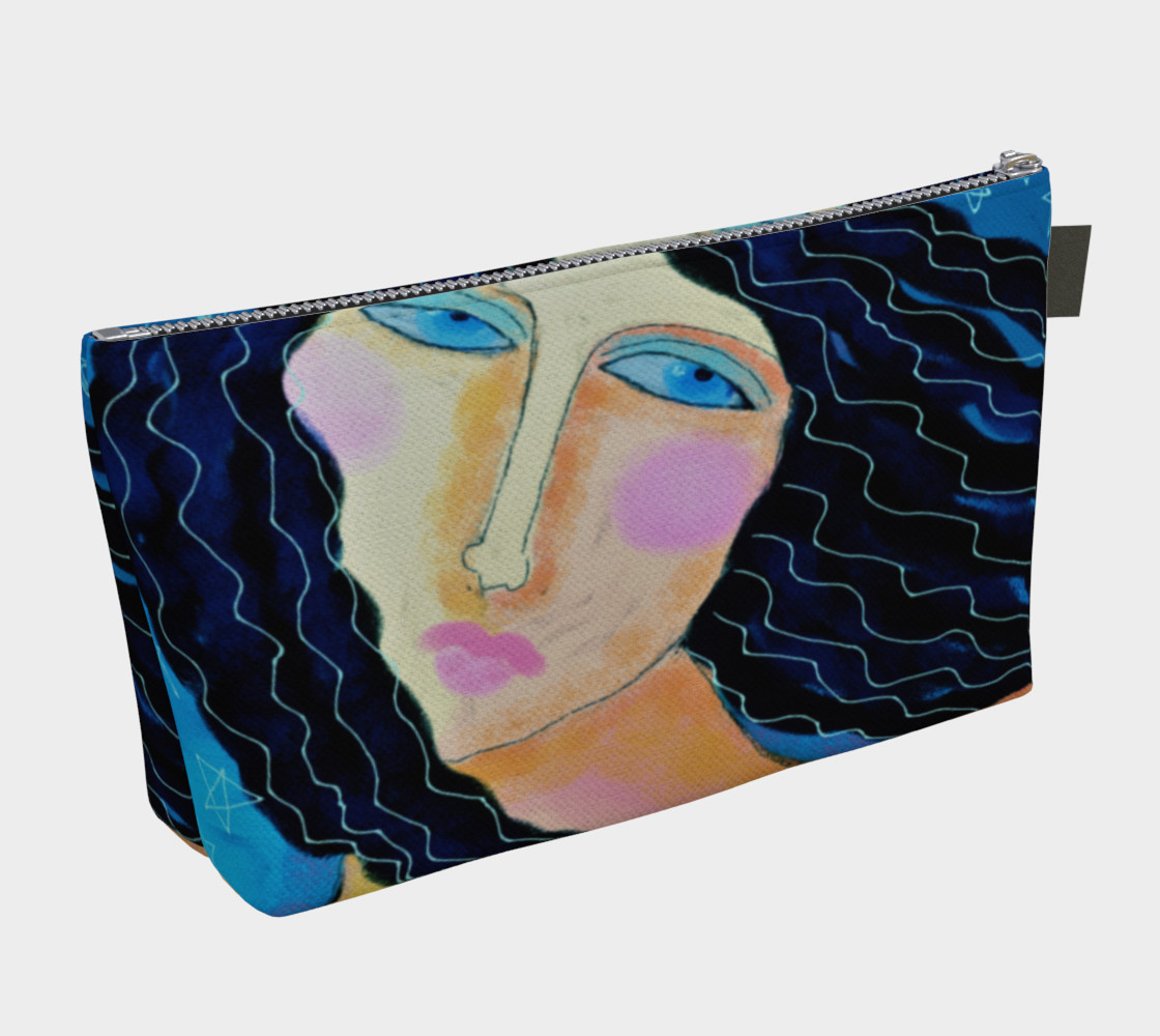 Aperçu de Beautiful Abstract Art Clutch Bag #2
