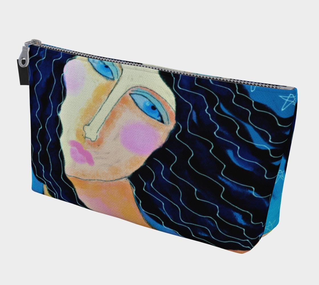 Aperçu de Beautiful Abstract Art Clutch Bag #1