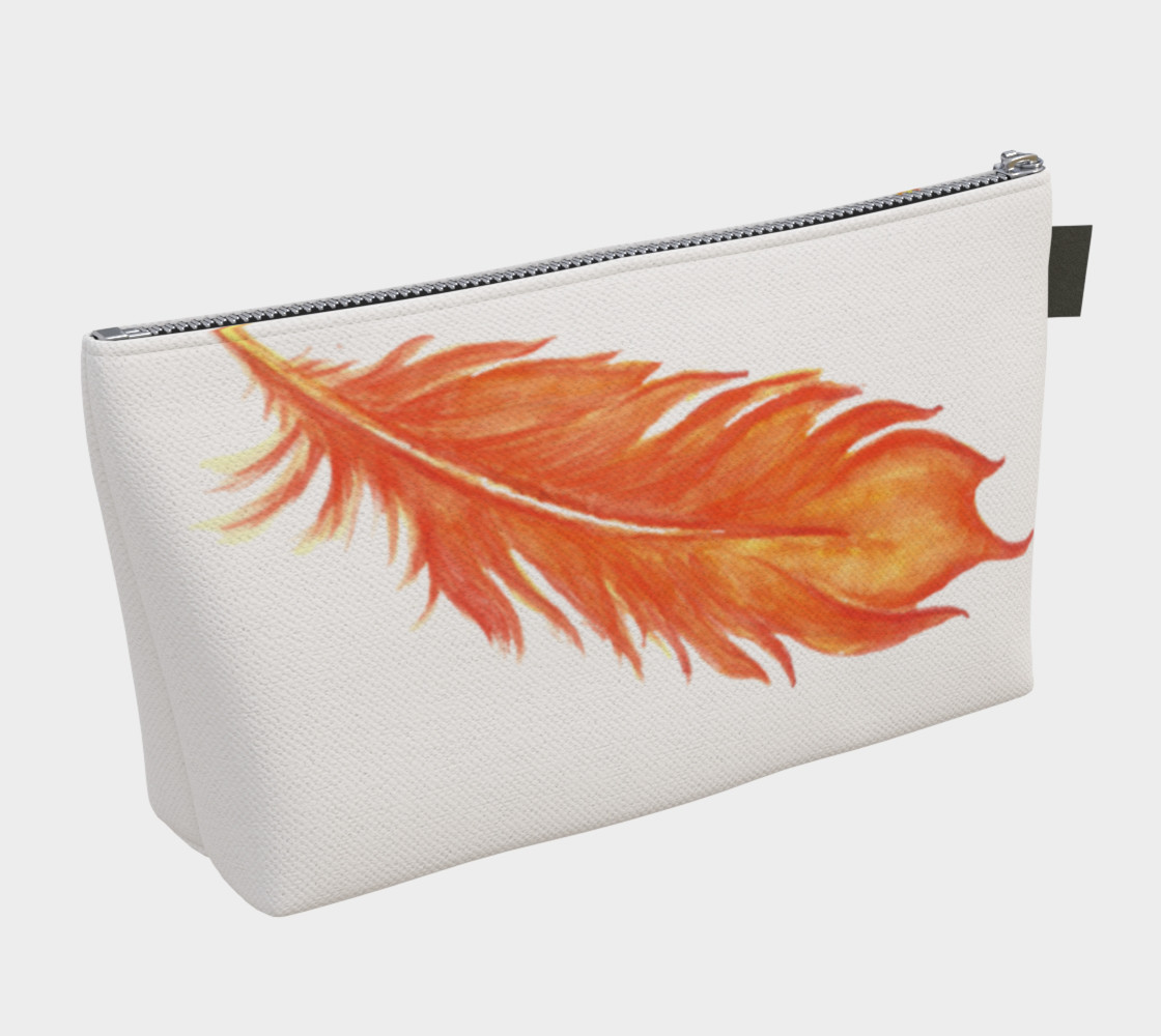 Phoenix Feather Cosmetic Bag preview #2