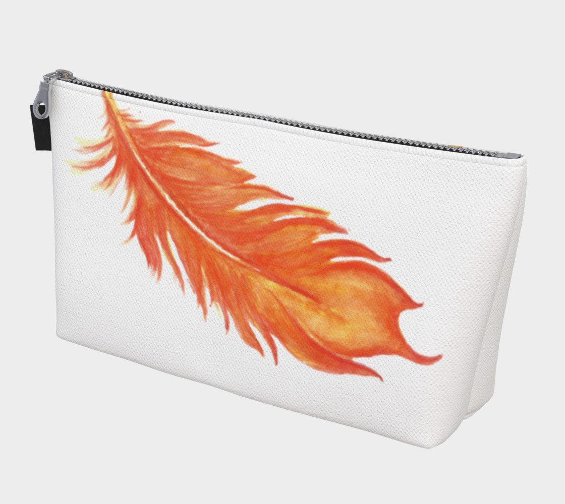 Phoenix Feather Cosmetic Bag preview #1