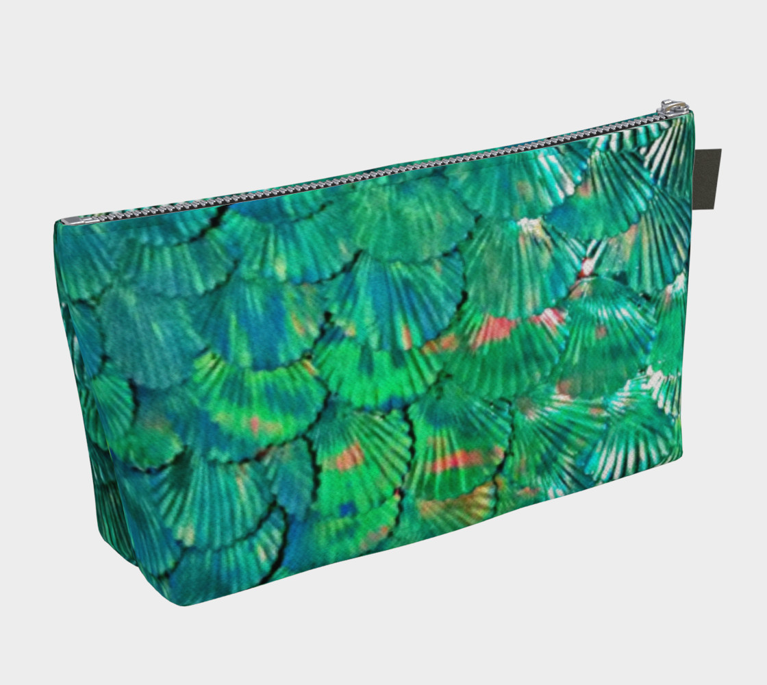 Large Mermaid-Scale Green Bag preview #2