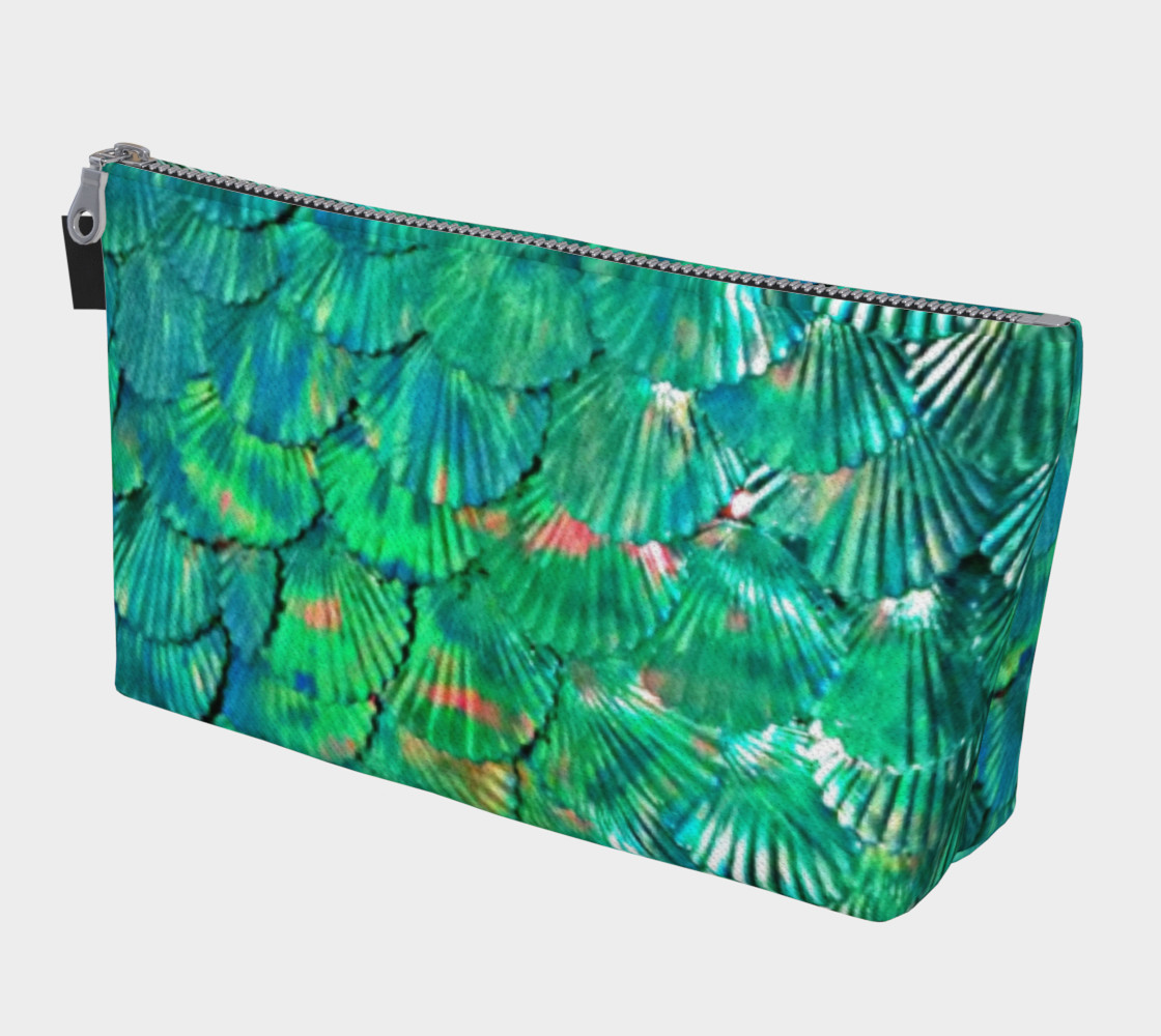 Large Mermaid-Scale Green Bag preview #1
